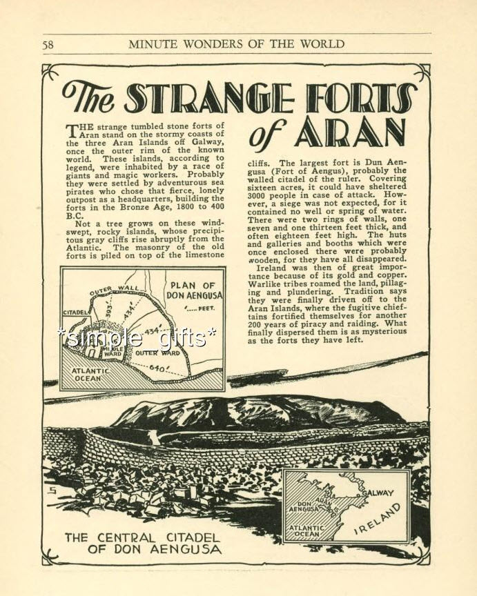 The Strange Forts of Aran