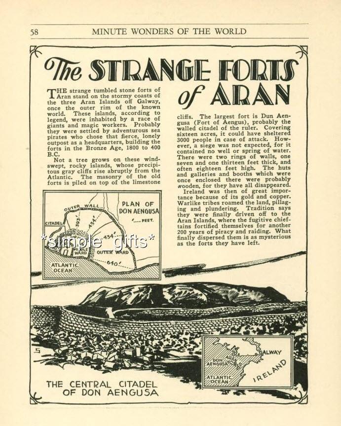 The Strange Forts of Aran
