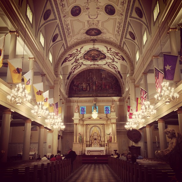 oldest cathedral in the US | Sean and Kelly's Wedding