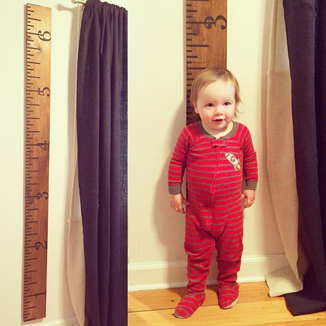 we love our new growth chart from @lexslittledarlings ??? #brianpatrickhenri